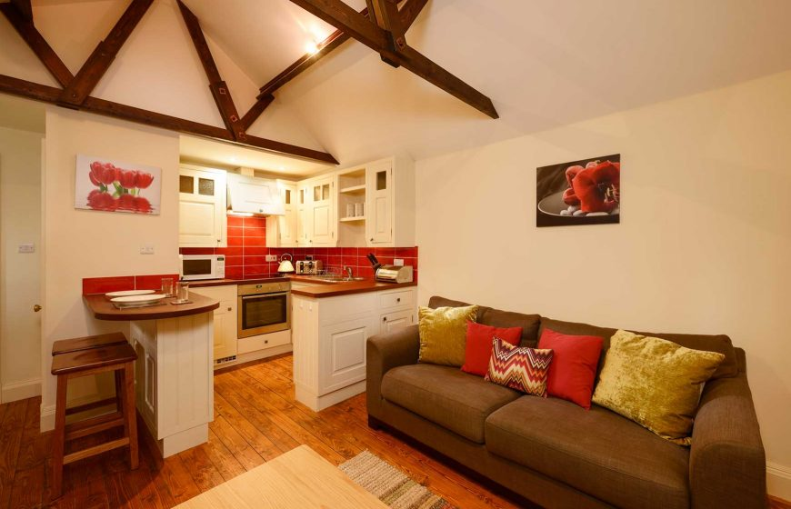 Woodside Cottage - top floor apartment