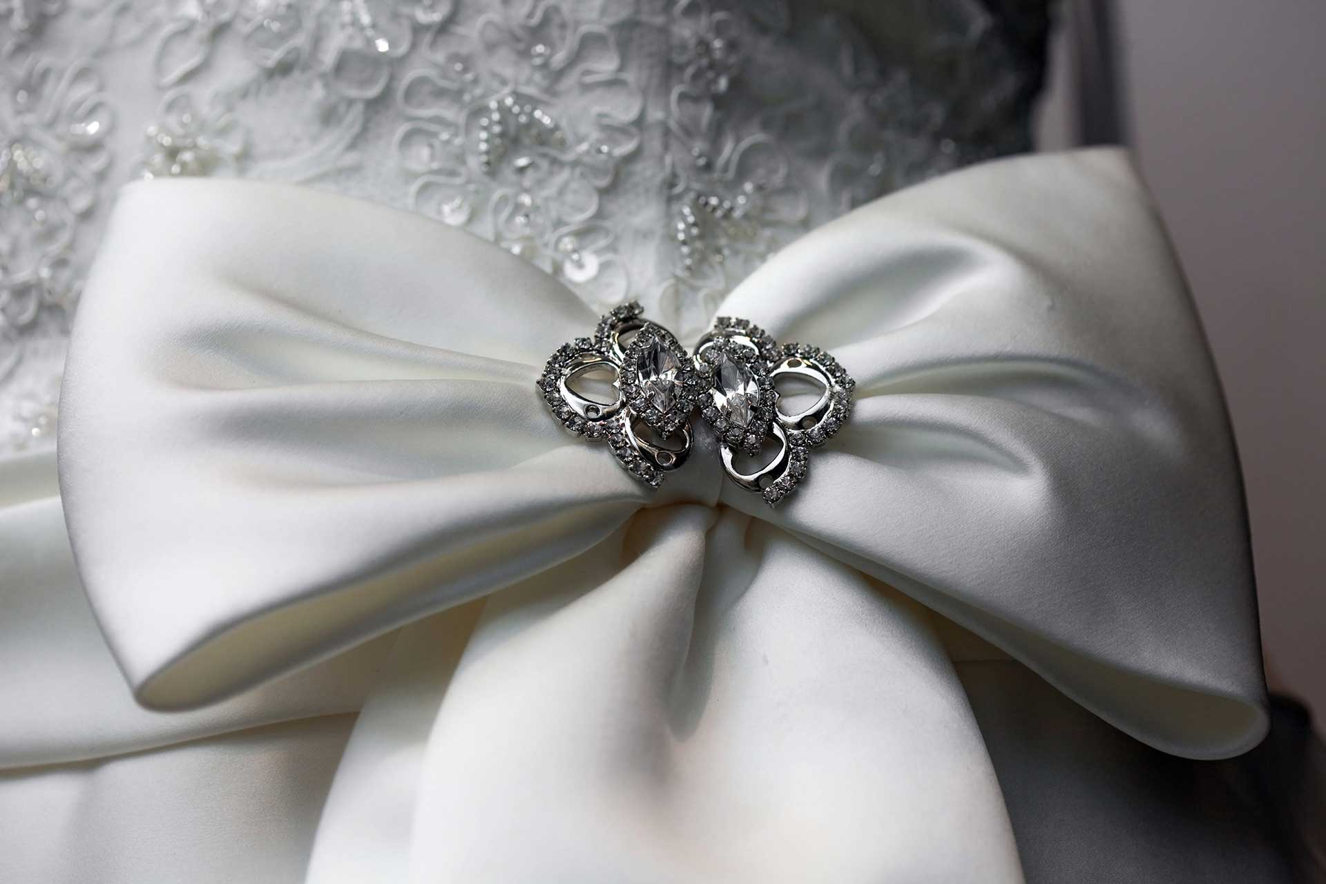 Bows big and small - New year, New bride!