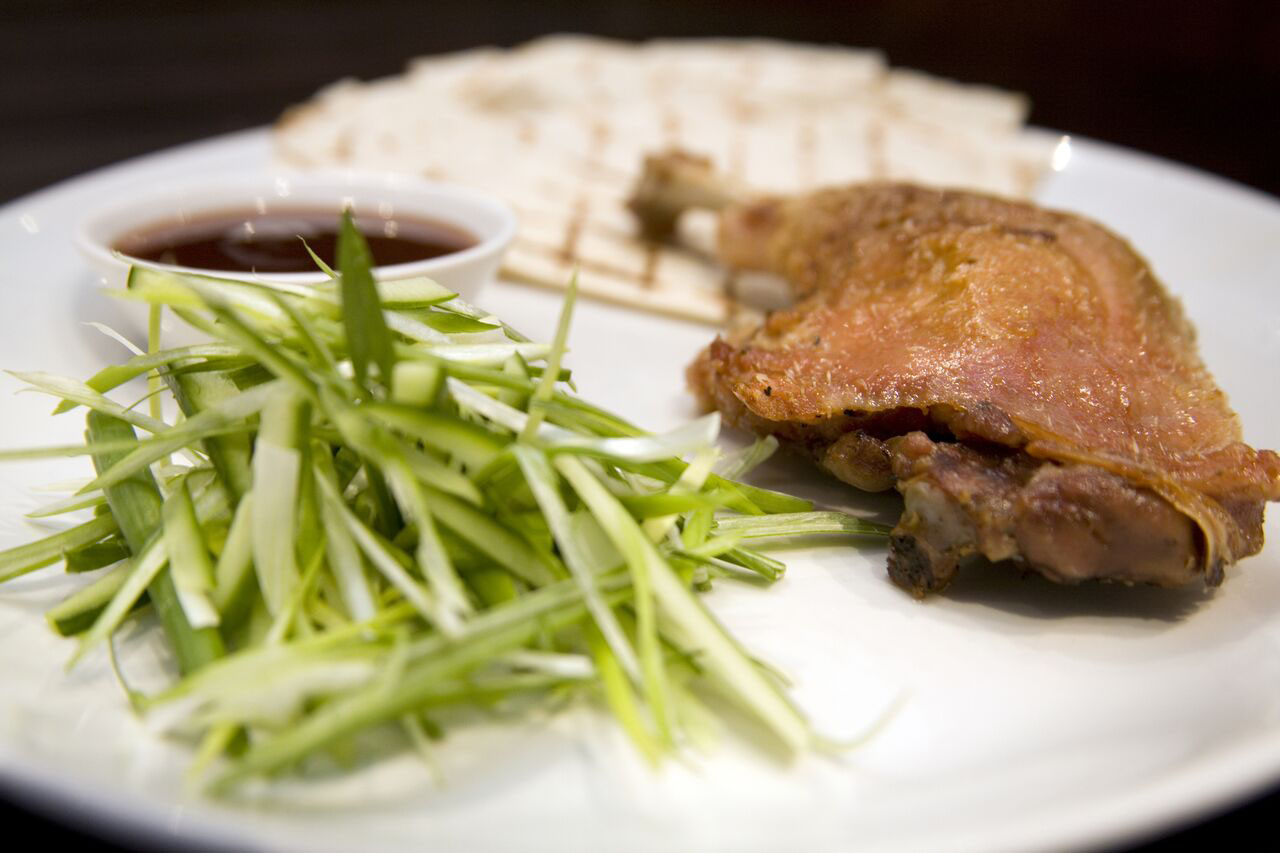 Wedding catering duck starter image