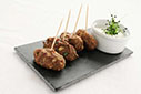 Lamb Koftas with Mint Yoghurt Dip